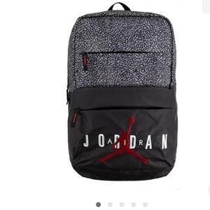 Nike Air Jordan Pivot Cement Backpack Bag Black